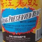 Foto van preserved black beans