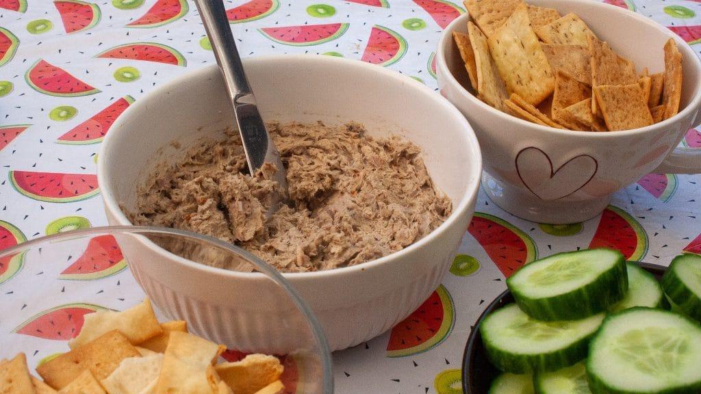 Sardinespread op borreltafel