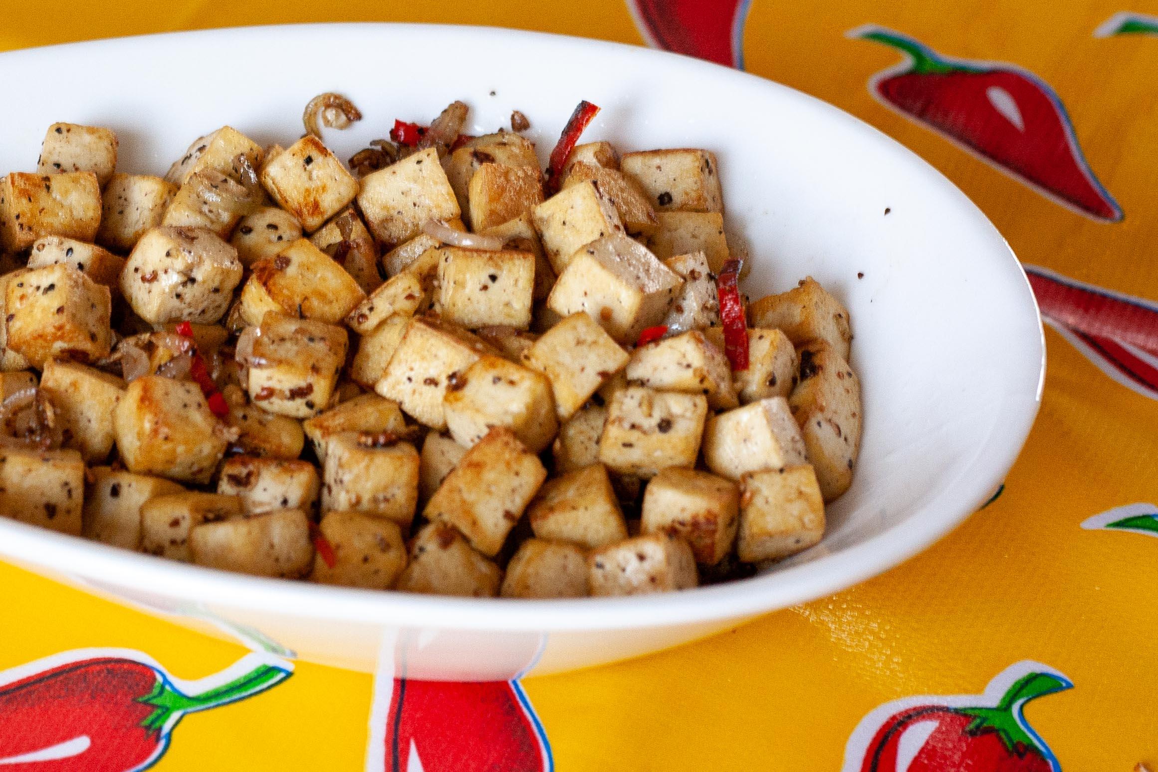 zout en peper tofu