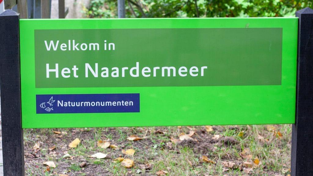 Bord Naardermeer